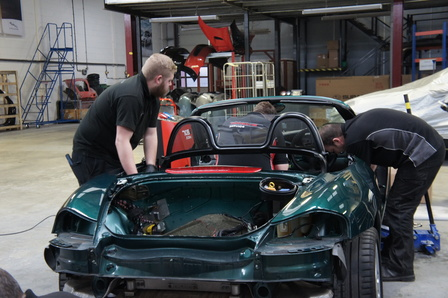 Restoracing journey: 986 Boxster photo gallery