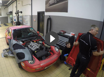 Phase 1: The dismantle of the 968 Club Sport